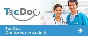 TocDoc, doctores y especialistas cerca de ti